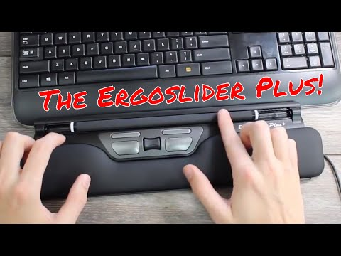 Ergoslider Plus Review (Ergonomic Roller Bar Mouse Replacement)!