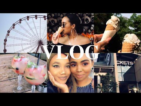 VLOG   Gold Reef City & Weekend Shenanigans!   South African YouTuber
