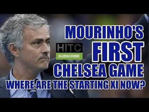 Mourinho's First Chelsea Game: Where Are The Starting XI Now? (видео)
