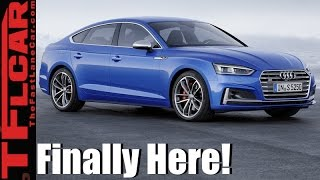 2018 Audi A5/S5 Sportback 5-Door Everything You Ever Wanted to Know by The Fast Lane Car