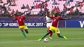 Watch highlights of the match between England and Guinea from the FIFA U-20 World Cup in Korea Republic.
