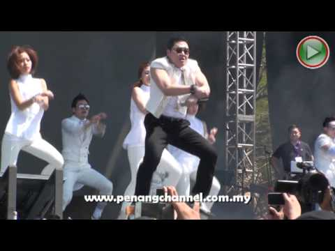 PSY Gangnam Style Live tại Malaisia phần 1