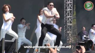 PSY Gangnam Style Live in Penang Malaysia (Part 1)