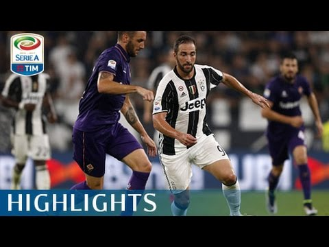 serie a 2016-17: juventus - fiorentina - highlights