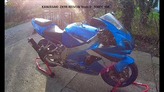 Kawasaki ZX9R review from 0 km - 93000 km