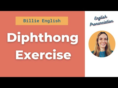 Diphthong Exercise