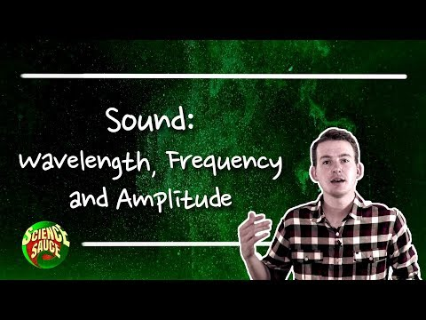 Wavelength, Frequency and Amplitude.