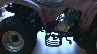8. This is a 360 video of our 250cc ATV
