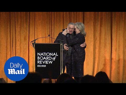 De Niro introduces Streep at the National Board Of Review Awards - Daily Mail
