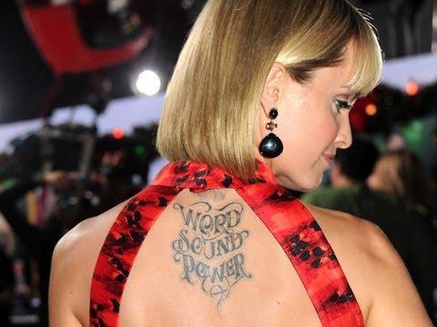 10 Bizarre Celebrity Tattoos!