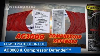 Prevent HVAC Wear & Tear and Surge Damage with the Intermatic AG3000 and Compressor Defender™