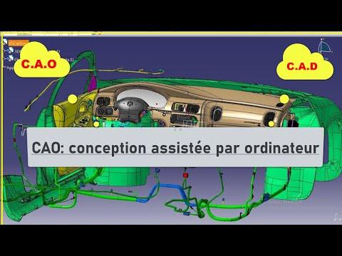 CAO -La conception assistée par ordinateur-