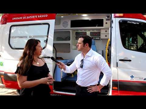 Saúde em Batatais é fortalecida com ambulância Top!