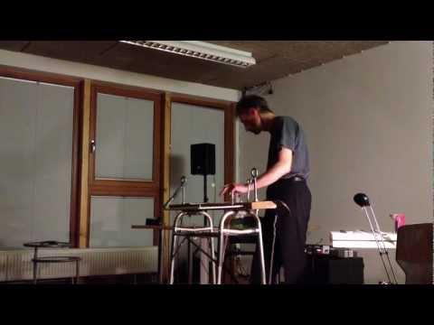 Eric Leonardson Live @ Phonophon im INM Frankfurt