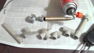 Сварка пластиковых труб без утюга в экстремальных условиях