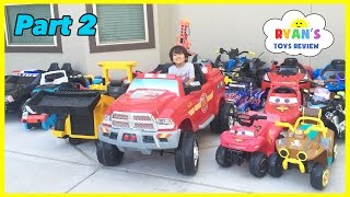 Video HUGE POWER WHEELS COLLECTIONS Ride On Cars for Kids Compilations Part 2 Disney Cars Paw Patrol MP3, 3GP, MP4, WEBM, AVI, FLV Oktober 2017