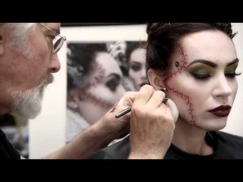 mac cosmetics - Bring the Monster's Bride to life with a Halloween look designed by special effects visionary Rick Baker exclusively for M∙A∙C. Watch how to create the makeu...