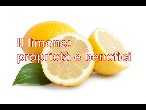 limone: proprietà e benefici.