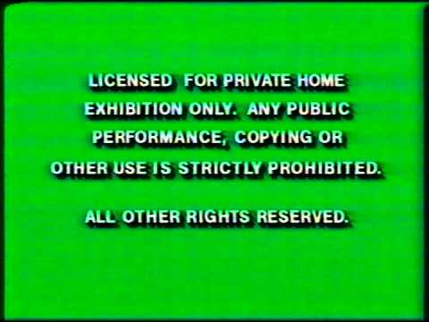 Opening to The Last Flight of Noah's Ark 1993 VHS