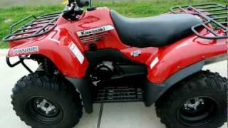 9. 2012 Kawasaki Prairie 360 4X4 Aztec Red Overview and Review