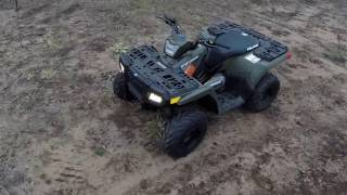 6. Sportsman 90cc Polaris Youth Model ATV Four Wheeler Quad