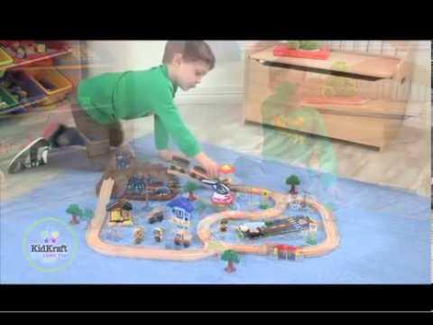 Kidkraft Mountain Speelgoedtrein