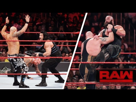 WWE Monday Night RAW 2 20 2017 Highlights HD   WWE RAW 20 February 2017 Highlights HD