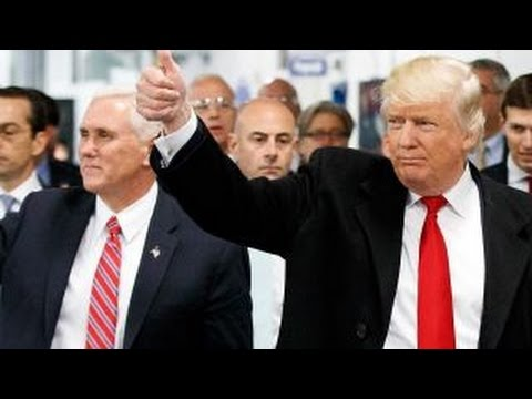 Trump and Pence kick off nationwide 'thank you' tour (видео)