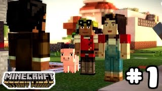 Minecraft Story Mode  Assembly Required  Part 1 Gameplay Walkthrough. This is our first video for chapter 2: Assembly Required. In this video Jesse and Olivia split up from the group to find Ellegaard.  It's an exciting start to the second chapter of their journey to save the Minecraft world. Hope you enjoy this Minecraft Story Mode video and don't forget to subscribe!Jake wants to invite all LEGO, Mega Bloks, and Kre-o, fans to subscribe to his channel! Also, let us now in the comments below what else you'd like us to build!Stay tuned for more awesome videos from the Jake The Builder channel! Don't forget to subscribe!Check out this THE GIANT LEGO aka Jake The Builderhttps://www.youtube.com/watch?v=piWaiPDrfAkCheck out this awesome Jake The Builder dance battlehttps://www.youtube.com/watch?v=SaCgjKetoAcCheck out this Star Wars Toy Hunthttps://www.youtube.com/edit?o=U&video_id=K93Dba65-acSponge Bob The Movie Surprise Baghttps://www.youtube.com/watch?v=jvoSjFvyy4sLego Creator 3 in 1 Sail Boat speed build tutorial https://www.youtube.com/watch?v=md7mYbQHGHIClick here to watch Guardians of the Galaxy build!https://www.youtube.com/watch?v=_I6szKFxXIACheck out this giant LEGO® headhttps://www.youtube.com/edit?o=U&video_id=KFg2Wt1POdILego Batwing speed build!https://www.youtube.com/watch?v=UIaC-slf0BsClick here to watch us open a LEGO® minifigure Suprise Bag!https://www.youtube.com/edit?o=U&video_id=VgDZFkqdxkADo you like Speed Builds? Do you like Star Wars? If so check out the link below:https://www.youtube.com/edit?o=U&video_id=K41qZ5PYvo02 Story Towerhttps://www.youtube.com/watch?v=3-o1eklS3XsAvengers minifigure toy unboxing part 1!https://www.youtube.com/watch?v=F6zG40Ve5hcWhat's your favorite LEGO® set??? What should I build next??? Leave your comments below!!!