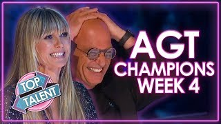 America's Got Talent: The Champions Auditions! | WEEK 4 | Top Talent