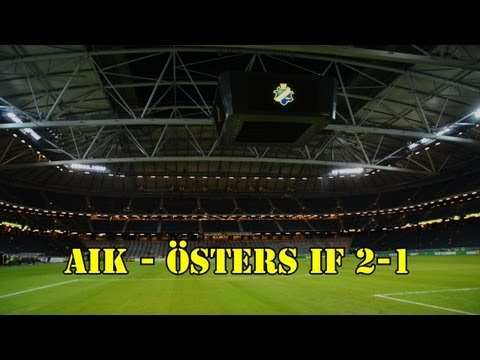 AIK - Östers IF 2-1 (2013-09-30)