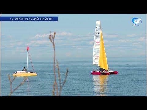 На озере Ильмень прошли гонки парусных судов «Кубок трех адмиралов»