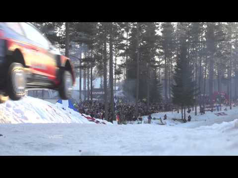 Rally Sweden 2015: Neuville´s 44-metre jump record