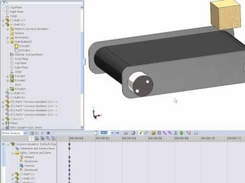how to make a v belt in solidworks