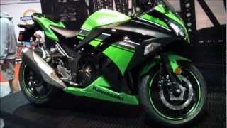 7. 2013 Kawasaki Ninja 300 Motorcycle