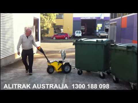 Alitrak TT600 Battery Electric Bin Mover