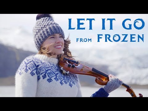 Let It Go (Disney's Frozen) Violin Cover by Taylor Davis