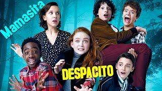 Niños de STRANGER THINGS Hablando Español 🔵 (Millie Bobby Brown, Finn Wolfhard...)