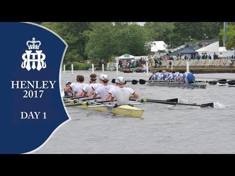 Day 1 - Full Replay | Henley Royal Regatta 2017