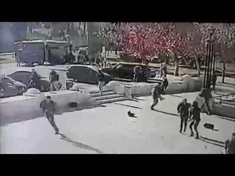 Vidео сартurеs rаммing аттаск in Jеrusаlем - DomaVideo.Ru