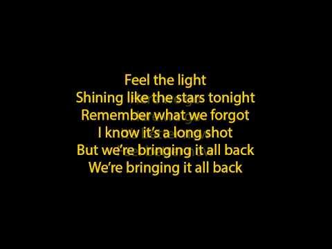 jennifer lopez - feel the light lyrics (full song)