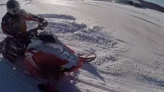7. Polaris Switchback XCR 600 Trail Riding Footage