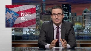 Puerto Rico is suffering a massive debt crisis. Lin-Manuel Miranda joins John Oliver to call for relief. Connect with Last Week ...