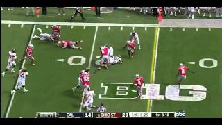 Johnathan Hankins vs Cal (2012)