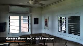 Plantation Shutters Byron Bay Blue Water