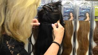 Thicken It Clip In Hair Extensions – #1 With Stylists