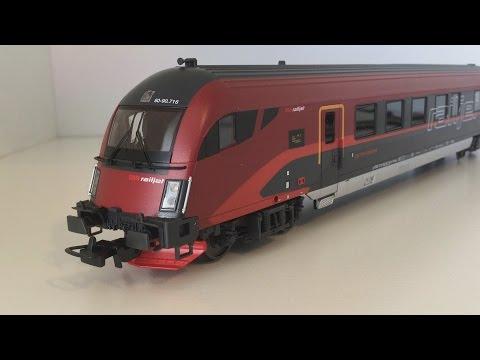 PIKO Modelleisenbahn: ÖBB Railjet Steuerwagen im Test