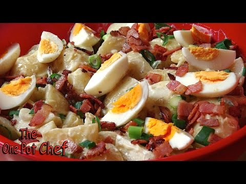 Classic Potato Salad (with Bacon and Egg) – RECIPE