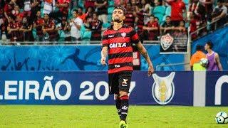 Com um gol de Rildo, o Coritiba venceu ao Vitória por 1 a 0 na terceira rodada da Série A do Campeonato Brasileiro, em jogo disputado na noite deste sábado (27), na Fonte Nova, em Salvador, na Bahia. Colaboração de foto: Maurícia da Matta/ECVitória