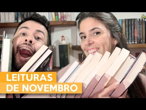 LEITURAS DE NOVEMBRO | Admirável Leitor